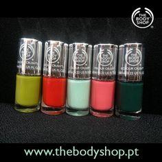 Amostras e Passatempos: Passatempo Novos Vernizes by The Body Shop