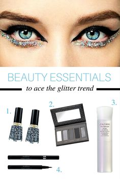 All the essentials you need to perfect the glitter look sweeping NYFW.
