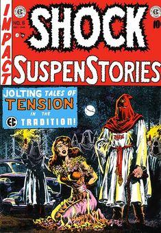 Shock SuspenStories - Wally Wood artwork
