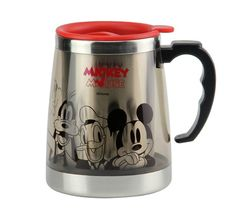 mickey mouse cups   Mickey Mouse Stainless Steel Thermal Drinkware Coffee Cups Tea Cup ...