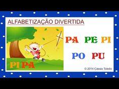 Vídeo Educativo Infantil - Alfabetização PA PE PI PO PU