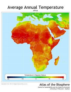 map of annual rainfall in Africa | infographics | Pinterest