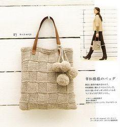 Tejidos - Knitted - Sac en tricot