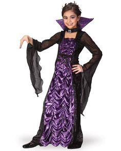 Cheap Vampire Costume for Girls. Reduced to only $29.90 - be quick! It's a Countess Vampire Outfit