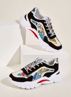 Guys Lace-Up Front Shoes Print Trainers mens sneakers casual mens sneakers fashion mens sneakers nike mens sneakers adidas mens sneakers black mens sneakers outfit mens sneakers white mens sneakers 2018 mens sneakers 2019 shoes mens sneakers mens sneakers Summer Sneakers, Casual Sneakers, Sneakers Fashion, Sneakers Nike, Sneakers Style, Men Shoes With Jeans, Adidas Men, Nike Men, New District