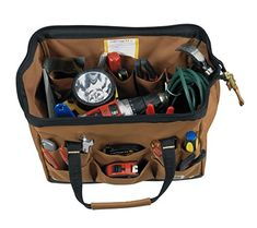 Best HVAC Tool Bag And Backpack Reviews ( 2019 )Ultimate buying guide Hvac Tool Bags, Hvac Tools, Best Tool Bag, Hand Tools List, Tool Backpack, Orange Interior, Backpack Reviews, Plastic Trays, Boat Stuff