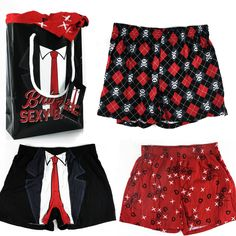 3 Valentine s Day Boxers w  Matching Gift Bag -  3.99  5f0eaa117c