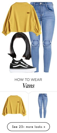 """1099"" by tuhlayjuh on Polyvore featuring Vans"
