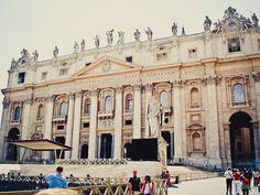 St. Peter's Basilica, Vatican City, Italy.