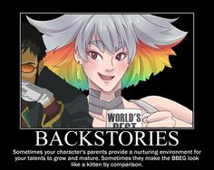 Backstories by golentan