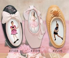 DANCE! DANCE! DANCE! Tap, Ballet, and Jazz resin frames are super cute. Great for recital gifts! $3.75 each.