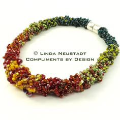 CHUNKY KUMIHIMO NECKLACE von ComplimentsByDesign auf Etsy