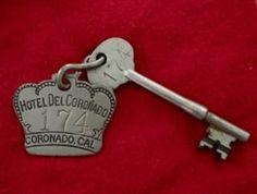 Hotel Del Room Key
