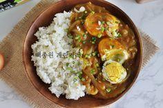 백종원 계란 카레 쫄깃하게 구운 흰자와 담백한 노른자가 카레와 굿 케미! : 네이버 블로그
