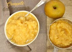 compote pomme maison Compote Recipe, Good Food, Yummy Food, Time To Eat, Food Videos, Macaroni And Cheese, Vegan Recipes, Food And Drink, Veggies