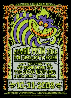 GigPosters.com - Pandacon - Staxx Brothers - C-leb & A-bro - Lucky Brown