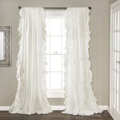 Lush Decor Reyna Curtain Panel Pair | Overstock.com Shopping - The Best Deals on Curtains
