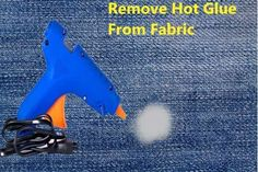 How to Remove Hot Glue From Fabric & Clothes: Step by Step Fabric Glue, Love Craft, How To Dye Fabric, Adhesive, How To Remove, Hot, Clothes, Outfits, Clothing