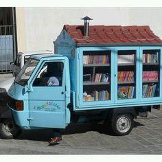 Biblioteques itinerants