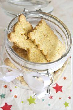 Petits biscuits vanille et avoine pour le goûter - Remplacer le sucre par du miel