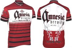 Amazon.com: Retro Men's Amnesia Brewing Company Cycling Jersey: Sports & Outdoors
