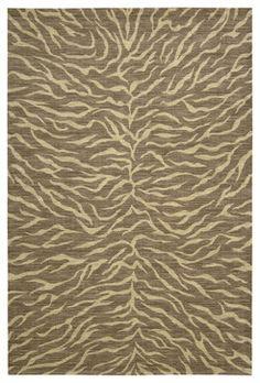 "Nourison Riviera RI05 9'6"" x 13' Chocolate Rug - rugs - PlushRugs"
