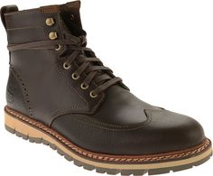 Timberland Earthkeepers Britton Hill Wing Tip Boot WP - Dark Brown Smooth - FREE Shipping & Exchanges | Shoebuy.com