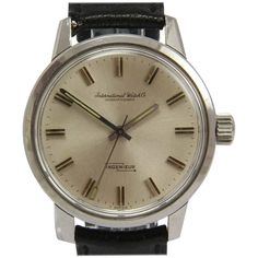 IWC Stainless Steel Ingenieur Big Crown Automatic Wristwatch Ref 866 | See more rare vintage Wrist Watches at https://www.1stdibs.com/jewelry/watches/wrist-watches