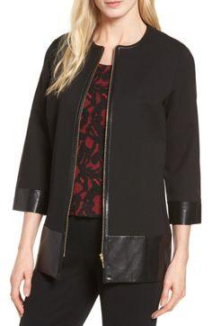 Knit Jacket, Bomber Jacket, Leather Jacket, Long Jackets, Nordstrom, Blazer, Zip, Shopping, Ideas