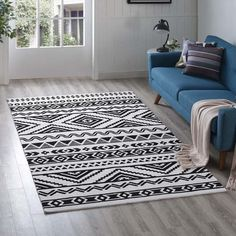 Modway Haku Geometric Moroccan Tribal Area Rug With Contemporary Design In Black and White Trellis Design, Lattice Design, Key Design, White Rug, White Area Rug, Sr500, 8x10 Area Rugs, Geometric Rug, Traditional Decor
