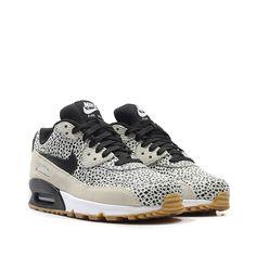 5c569fd82e03 Nike Wmns Air Max 90 Premium Safari Pack (beige   cremeweiss   schwarz)