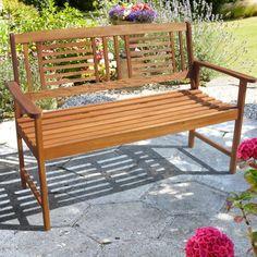 Brundle Gardener -  2 Seater Wooden Bench