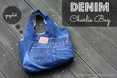 durbanville.design: Charlie Bag inspired #2 ... es war einmal eine Jeans