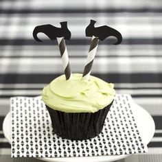 Witch Leg Cupcakes