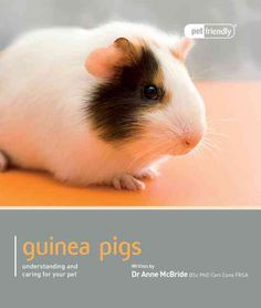 The more you know about your Guinea Pig, the better you will be able to provide care and attention your pet requires for a healthy and happy life. Written by experts, this comprehensive guide will ena