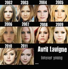Forever Young... is the brand of Makeup she's wearing...