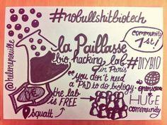 #SenseCamp La Paillasse, a bio hacking lab