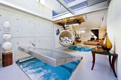 Check out the concealed plunge pool.