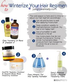 How To: Winterize Your Hair Regimen - http://www.beautysets.com/sets/16185 - How To Hair
