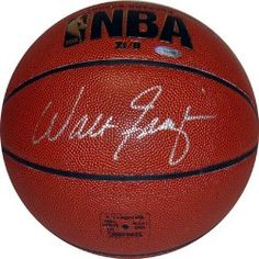 NBA New York Knicks Walt Frazier Autographed Basketball