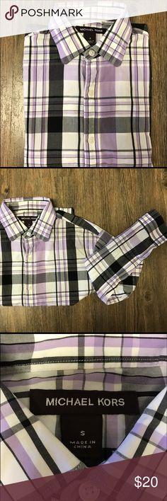 Michael Kors men shirt size Small Men shirt size Small. Long sleeves. Used. Michael Kors Shirts Dress Shirts