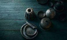 Antiguos objetos para repostería.