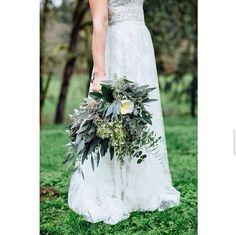 4 Prodigious Useful Ideas: Winter Wedding Flowers Maroon country wedding flowers bridal musings. Bouquet Bride, Wedding Bouquets, Rustic Bouquet, Herb Bouquet, Bridesmaid Bouquet, Wedding Dresses, Pink Bridesmaids, Cheap Wedding Flowers, Floral Wedding
