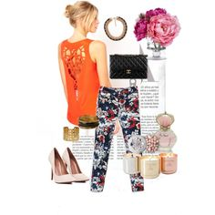 Day Look # Floral Mood