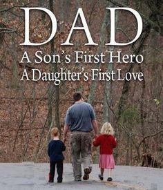 My dad is another person very important person in my life. Without him i wouldnt know how too grow up. Fathers Day Quotes, Fathers Love, Happy Fathers Day, Happy Mothers, I Love My Dad, First Love, Great Quotes, Inspirational Quotes, Motivational
