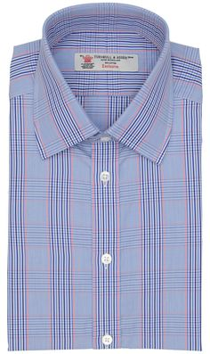 Checked Muticolor Dress Shirt by Turnbull & Asser