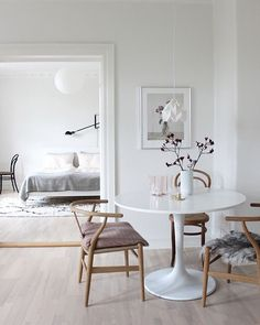 Scandinavian Dining Room Design: Ideas & Inspiration - Di Home Design Küchen Design, Home Design, Home Interior Design, Interior Decorating, Design Ideas, Design Concepts, Luxury Interior, Designs, Interior Styling