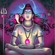 Shiva Shambo, Shiva Art, Lord Shiva, Hindu Art, Lord Ganesha, Krishna, Bhagavad Gita, Advaita Vedanta, Bhakti Yoga