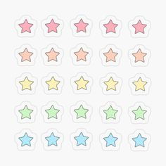 Bubble Stickers, Star Stickers, Cool Stickers, Printable Stickers, Stickers Kawaii, Preppy Stickers, Anime Stickers, Journal Stickers, Scrapbook Stickers
