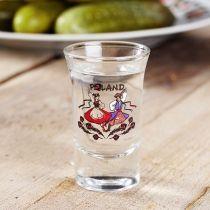 Kieliszek szklany do wódki POLAND KRAKOWIACY